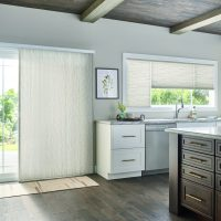 Graber Shades for Window treatment on Patio Doors