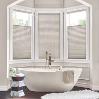 "1"" Bottom Up/Top Down Pleated Shades with Cordless Lift: Eloquence, Elegant Taupe 2760"
